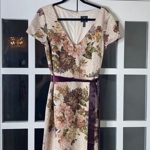 Full length floral gown